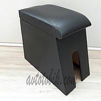 Подлокотник ВАЗ 2121-21213 Нива Тайга черный без вышивки, фото 1