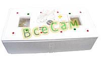 Малогабаритный бытовой инкубатор ИБ-100-А с автоматическим переворотом