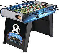 Настольный футбол Champions Football, игровой стол футбол - 122 x 61 x 82 см, кикер