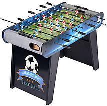 Настольный футбол Champions Football, игровой стол футбол - 122 x 61 x 82 см, кикер, фото 2
