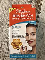 Крем для удаления волос на лице с кисточкой Sally Hansen brush on