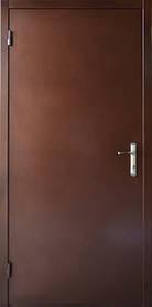 Нестандартные входные двери метал/ДСП 190 см. на улицу