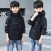 Стильна чорна куртка для хлопчика