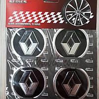 Наклейка эмблема на колпаки Renault 60 мм (4 шт.), фото 1