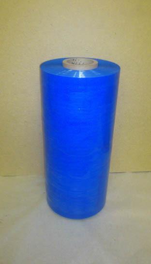 Стретч пленка паллетная синяя 23 мкм для машинной упаковки