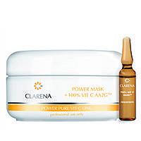 Кремовая маска со 100% активным витамином С и экстрактом шелка,100 мл + 3 мл