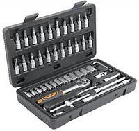 "Набор инструментов 1/4"", 46 предметов."