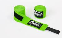 Бинты для спортсменов (2шт) хлопок с эластаном TWINS CH-5 (l-5м) Зеленый