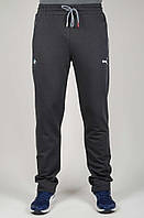 Мужские спортивные брюки Puma BMW 4669 Тёмно-серые