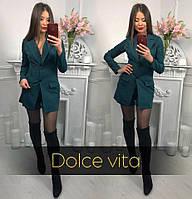 Женский костюм с шортами и удлиненным пиджаком tez2210428, фото 1