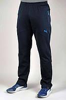 Мужские спортивные штаны Puma BMW 4678 Тёмно-синие