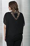 Блуза женская Черный Maxlive, фото 3