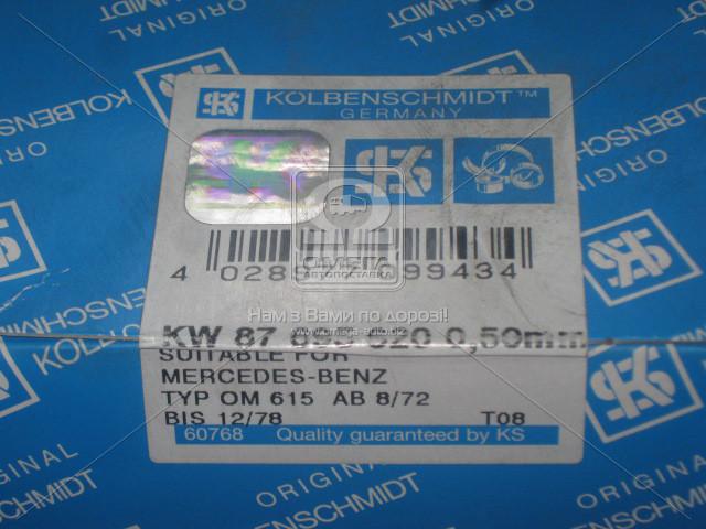 Вкладыши коренные MB PASS-L 0.50 OM615/OM616 (пр-во KS) 87695620