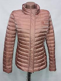 """""""Яблоко""""-демисезонная куртка 8033(L, xL) чайная роза"""