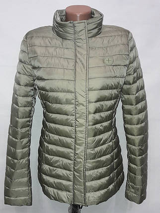 """Яблоко""-демисезонная куртка 8033 оливка, фото 2"