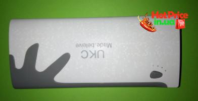 Зарядний пристрій Power Bank UKC 20000mAh 3 USB