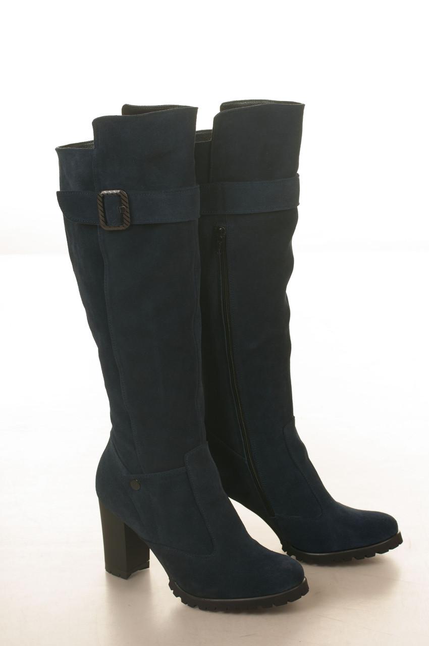 Сапоги высокие на высоком каблуке, из натуральной кожи, лака на молнии. Пять цвето! Размеры 36-41 модель S2804