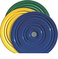 Диск здоровье Грация металлический для фитнеса