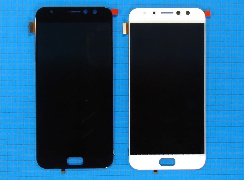 Дисплей (LCD) Asus ZenFone 4 Selfie (ZD553KL) с сенсором белый