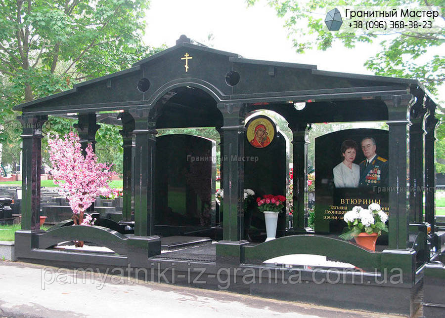 Склеп на кладбище № 4
