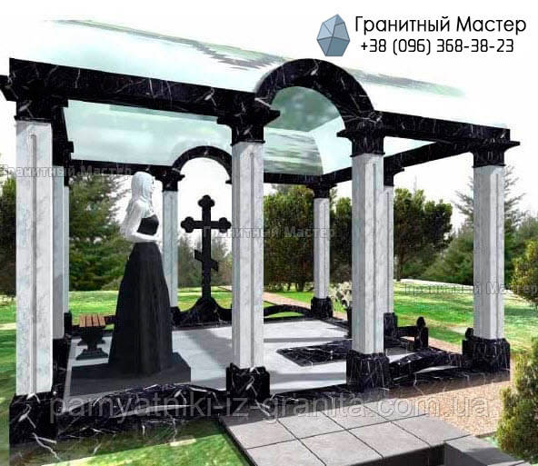 Склеп на кладбище № 8
