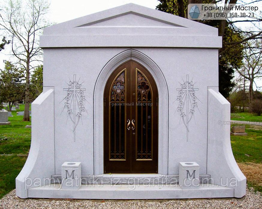 Склеп на кладбище № 9