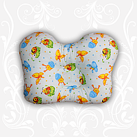 Подушка для новорожденных Бабочка ортопедическая