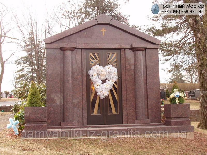 Склеп на кладбище № 18