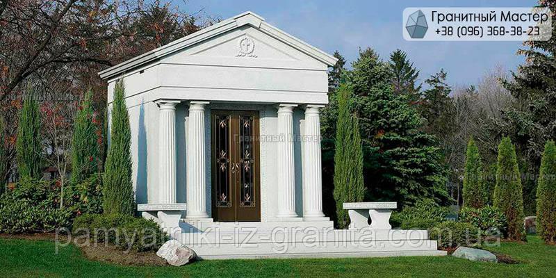Склеп на кладбище № 23