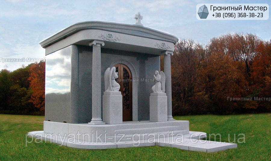 Склеп на кладбище № 24