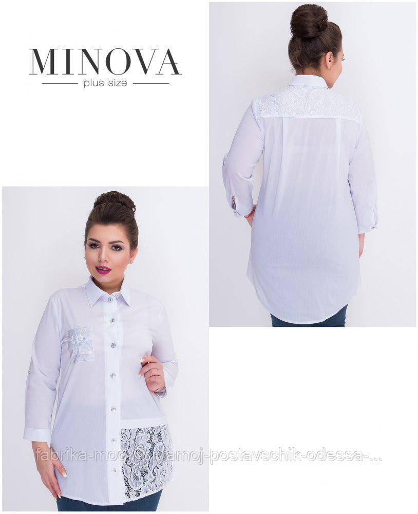 Рубашка женская Минова 361  по 62 размер