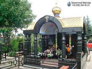Склеп на кладбище № 27