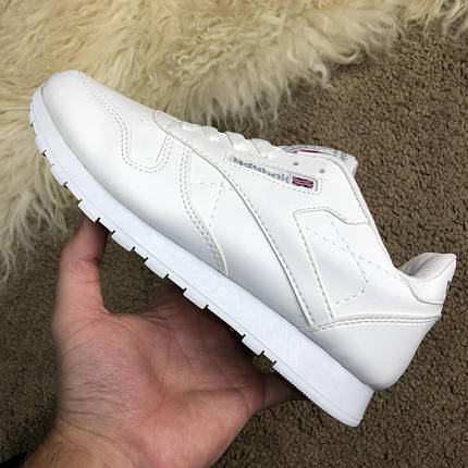 Reebok Classic Leather White, фото 2