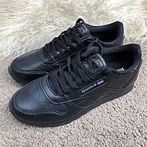 Reebok Classic Leather Black, фото 2