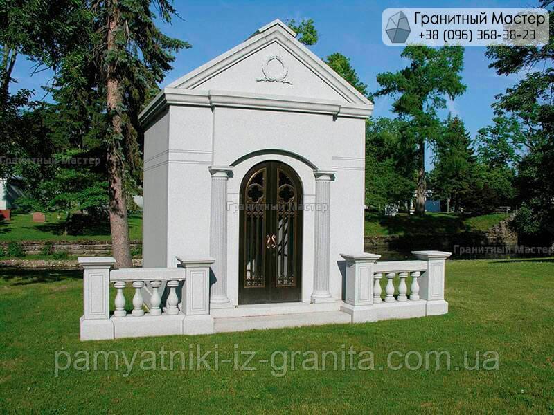 Склеп на кладбище № 34