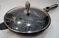 Сковородка Swiss Zurich 26cм SZ-157-26B 7 капсюльных слоёв, хирургическая сталь