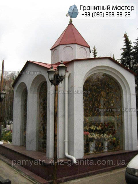 Склеп на кладбище № 37