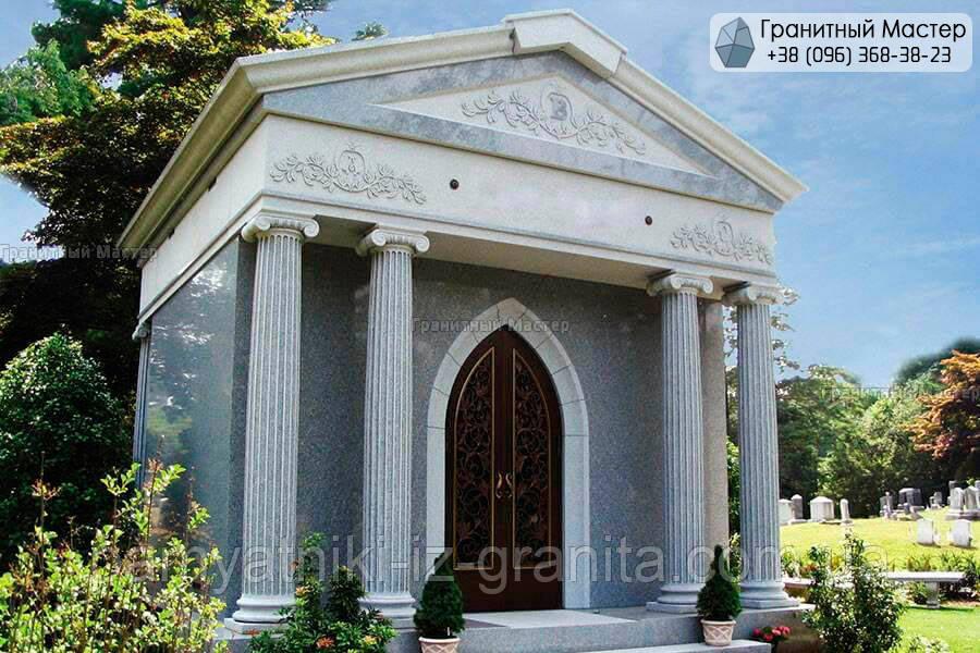 Склеп на кладбище № 39