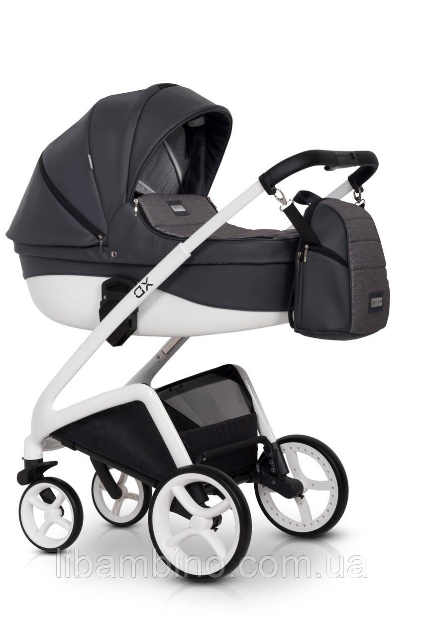 Дитяча універсальна коляска 2 в 1 Riko XD 04 Antracite