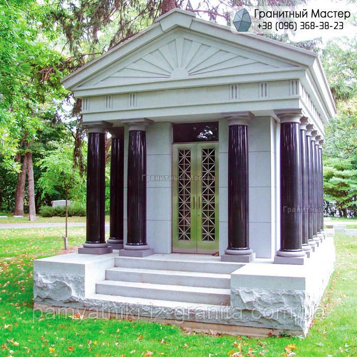 Склеп на кладбище № 44