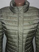 """Яблуко""-демісезонна куртка 814 оливка, фото 3"