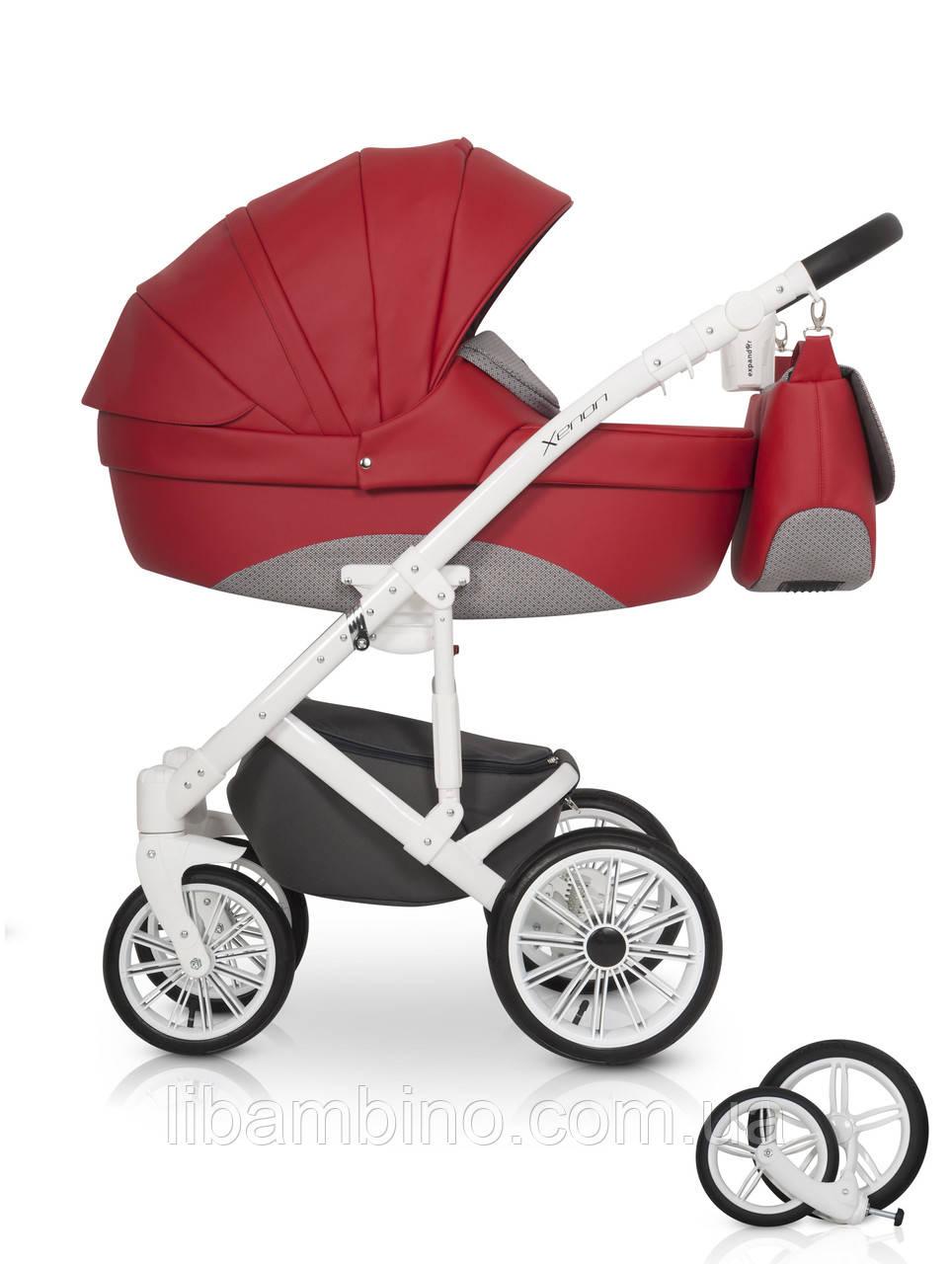 Дитяча універсальна коляска 2 в 1 Expander Xenon 03 Scarlet