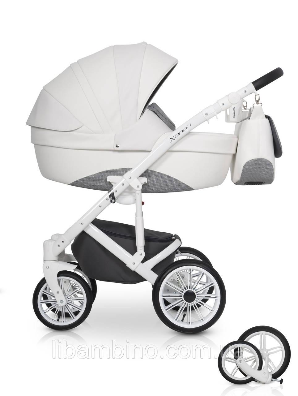 Дитяча універсальна коляска 2 в 1 Expander Xenon 01 White