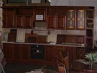 кухня готовая из дерева - фасады из массива черешни (Drewpol) 18900грн фото 83