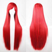 Красный парик 80см