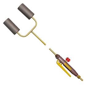 Горелка ГВ ДМ 252  2-х факел. (рычаг)