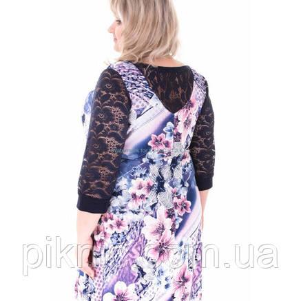 Платье Надежда батал 60, 62, 64, 66. Женское платье большой размер. №1 , фото 2