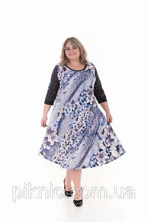 Платье Надежда батал 60, 62, 64, 66. Женское платье большой размер.№2 , фото 2