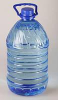 Бутылка ПЭТ пластиковая пищевая 5.0л прозрачная с крышкой (20 шт/уп)