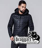Braggart 1272   Мужская ветровка черная